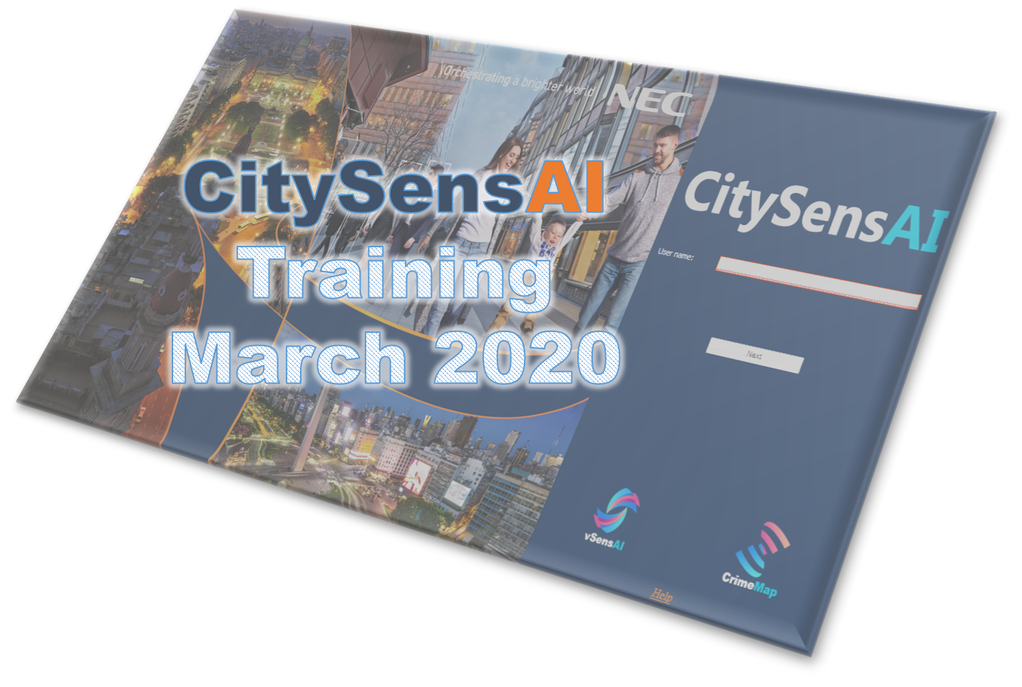 Course Image CitySensAI Training March 2020